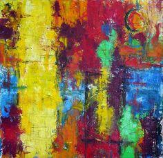 Abstract 0315 Mixed media abstract