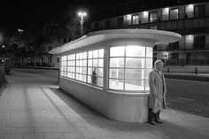 Art Deco bus shelter | Flickr - Photo Sharing!