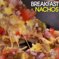 Breakfast Nachos More Breakfast Nachos Breakfast Nachos, Breakfast Time, Food Network Recipes, Cooking Recipes, Healthy Recipes, Brunch Recipes, Breakfast Recipes, Breakfast Ideas, Good Food