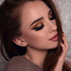 Maquillage Nouvel An paupières scentillantes #tips #makeup