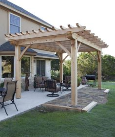 Timber Frame Pergola www.texastimberframes.com https://www.facebook.com/pages/Texas-Timber-Frames/72503484999
