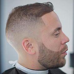 Fade Haircut For Balding Men