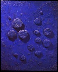 Blue Agreement Yves Klein