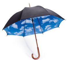 Sky Umbrella designed by Tibor Kalman and Emanuela Frattini Magnusson - $39.95 - http://www.walletburn.com/Sky-Umbrella_583.html #design #umbrella