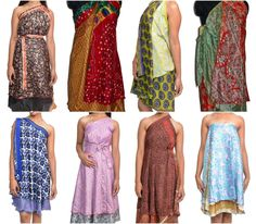 Magic skirt instruction how to wear This tutorial tells you how to wear magic skirts in 10 ways, magic skirts can be wear as beach skirts, party skirts etc. Hijabs, The Dress, Dress Skirt, Sarong Dress, Sarong Wrap, Dress Long, Skirt Fashion, Hijab Fashion, Style Fashion