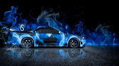 Nissan Skyline GTR R34 Fire Car 2013 « El Tony