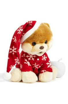 Free shipping and returns on Gund 'Boo in PJs' Stuffed Animal at Nordstrom.com. The world's cutest dog is back, and this time, he's ready to hit the sack. With his snowflake PJs and pompom cap, this plush toy is a perfect holiday gift.