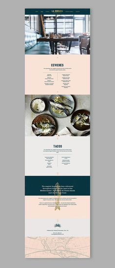 La Dorada Restaurant Web Design by Fivestar Branding Agency – Design and Branding Agency & Inspiration Gallery Web Design Trends, Design Web, Banner Web Design, Great Logo Design, Layout Design, Layout Web, Minimal Web Design, Website Design Layout, Design Blog