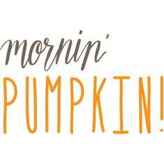 Silhouette Design Store - View Design #275716: mornin' pumpkin Cricut Craft Room, Cricut Vinyl, Cute Fall Wallpaper, Season Quotes, Monogram Decal, Vinyl Shirts, Printable Designs, Cricut Creations, Vinyl Projects