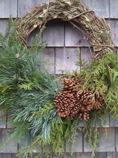 45 Easy DIY Dollar Store Christmas Decorations for Decorating on a Budget - The Trending House Natural Christmas, Outdoor Christmas, Rustic Christmas, Winter Christmas, Christmas Crafts, Christmas Decorations, Holiday Decor, Large Christmas Wreath, Etsy Christmas