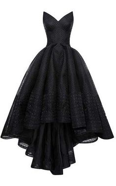 Embroidered Organza Gown by Zac Posen for   jaglady on Moda Operandi