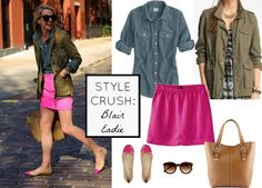 We love @Blair Eadie // Atlantic Pacific & this polished casual look is perfect for spring!