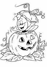 Malebog. Tegninger Halloween8