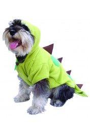 #DisfracesParaPerros Disfraz de Dinosaurio para Perro