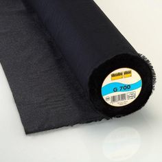 50 cm Vilene G700 Vlieseline Woven Iron on Black Interfacing (Pellon SF 101)