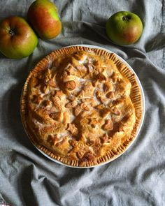 I'd forgotten how much I love Irish Apple Tart until I made this delicious dish again. I often find pastry making a little tedious but this Tart is so forgiving, so simple and virtual… Apple Slices, Apple Pie, My Grandmother, Pastry Brushes, Tasty Dishes, Tart, Irish, Rolls, Memories