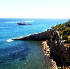 Landscape from Dalt Villa - ibiza