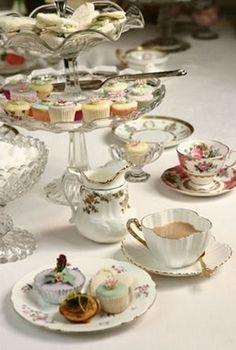 high tea English High Tea, Tea Table Settings, Fundraiser Party, Tea Party Table, Cream Tea, Tea Party Birthday, Tea Cakes, Tea Recipes, Tea Time