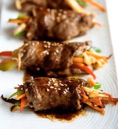 Crazy Weekend - Low Carb Recipe Time - Steak Veggie Rolls