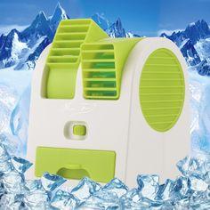 Portable USB Ultra-quiet No Leaves Mini Air Conditioning Fan Aromatherapy Fan ventilador ar condicionado air conditioner fan