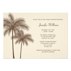 =>>Cheap          Brown Palm Tree Bridal Shower Invitation           Brown Palm Tree Bridal Shower Invitation This site is will advise you where to buyDeals          Brown Palm Tree Bridal Shower Invitation Review from Associated Store with this Deal...Cleck Hot Deals >>> http://www.zazzle.com/brown_palm_tree_bridal_shower_invitation-161260666662769048?rf=238627982471231924&zbar=1&tc=terrest