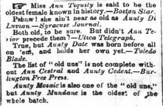 Sweet Americana Sweethearts: Victorian America's Sense of Humor | The Times-Picayune of New Orleans, Louisiana, April 21, 1857 | www.KristinHolt.com