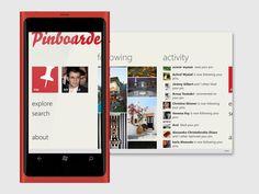 New Pinterest app for Windows Phone!