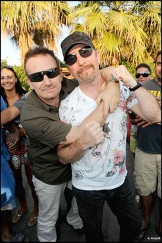 Bono and Edge.