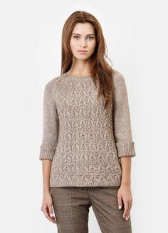Купить Вязаный джемпер с рукавами-реглан (LK1P73) в интернет-магазине одежды O'STIN