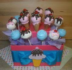 Ice Cream Cake Pops