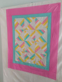 Hourglass from Quilts for Baby's Easy as ABC.