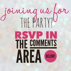 RSVP Pure Romance Consultant, Beauty Consultant, Jamberry Facebook Party, Thirty One Facebook, Norwex Party, Younique Presenter, Avon, Perfectly Posh, Pink Zebra