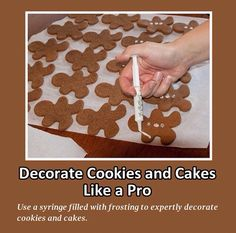Decorate cookies & cakes like a pro...