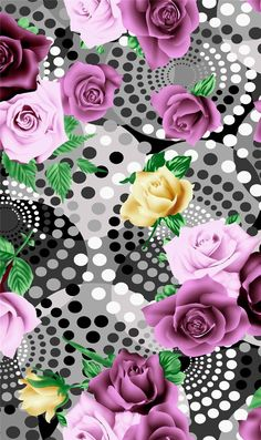 flower+design-hand+drawn-digital+print-.jpg (949×1600)
