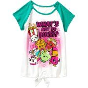 Shopkins Girls' What's Not to Love Short Sleeve Crew Neck Graphic Tee