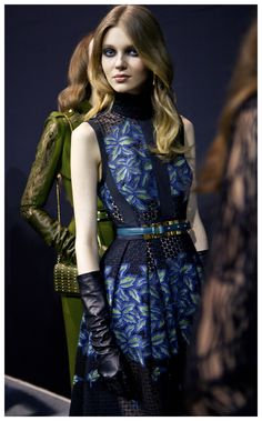 Elie Saab Fall 2015 at Moda Operandi