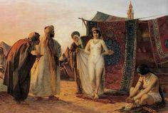 The Barbary slave trade