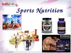 Importance of Sports Nutrition - Healthgenie by Healthgenie via slideshare