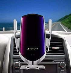 Automatic Clamping Qi Wireless Car Charger Mount Air Vent Cell Phone Holder | G-mart Charger Holder, Car Holder, Bluetooth, Air Vent Phone Holder, Smartphone, Iphone Charger, Usb, Aliexpress, Autos