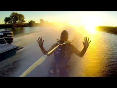 The wow factor video: GoPro footage with clever stunts always keep the interest of viewers. Barefoot waterskiing incredibly difficult - check out how this guy breakdancers and barefoots!