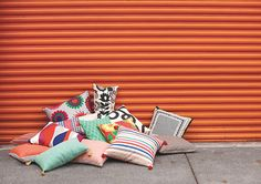 CITTA DESIGN Summer 2012/2013 Collection: Moda Barcelona — Cushions. www.cittadesign.com
