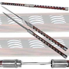 Twin Blade and Staff Sword Set - $49.95