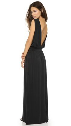 Just Female Rule Maxi Dress - Black | SHOPBOP.COM created by #ShoppingIS