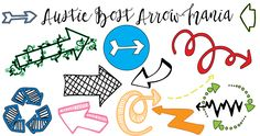 Austie Bost Arrow Mania Font   dafont.com
