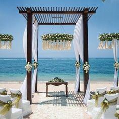 Romantic Wedding on dream beach Outdoor Wedding Decorations, Wedding Themes, Wedding Ideas, Wedding Inspiration, Style Inspiration, Wedding Vows To Husband, Thailand Wedding, Wedding Expenses, Wedding Planners