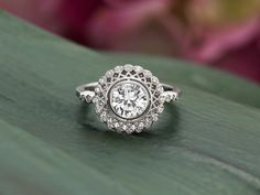 A truly exceptional vintage inspired ring.