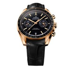 Black and gold Speedmaster
