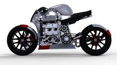 Kickboxer Concept Bike.