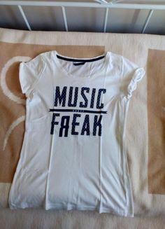 Kup mój przedmiot na #vintedpl http://www.vinted.pl/damska-odziez/koszulki-z-krotkim-rekawem-t-shirty/12252124-bluzka-t-shirt-bialy-z-nadrukiem
