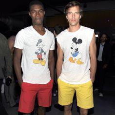 I want both t-shirts...!